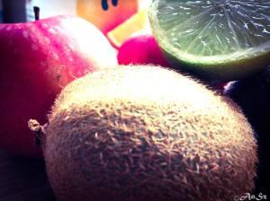 Sunday: kiwi, lime, apple