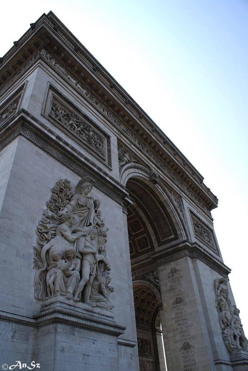 Paris 4 - Arc de Triomphe