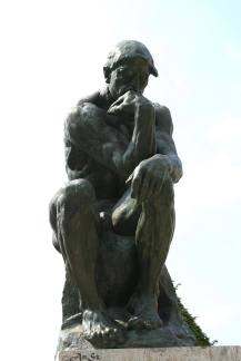 Paris 8 - the thinker