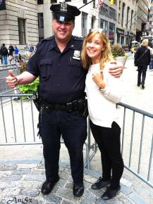 A true cop in New York