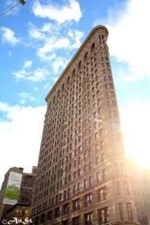 the Flatiron Building