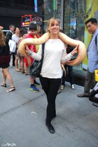 Me, snake, NYC