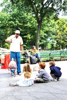 the magic show in central park